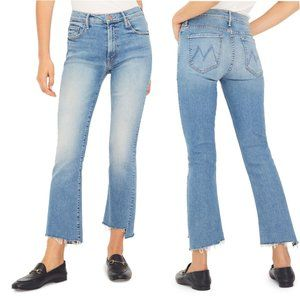 MOTHER The Insider Crop Step Fray Size 30 NWT